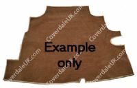Austin A60 Cambridge 1961 to 1969 Boot Mat Only - Wessex Wool Range